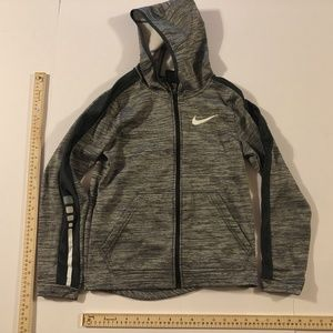 Nike Boys Dri Fit Basketball Zip Up Hoodie